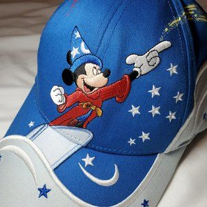 Disney Mickey Mouse Fantasia embroidered cap
